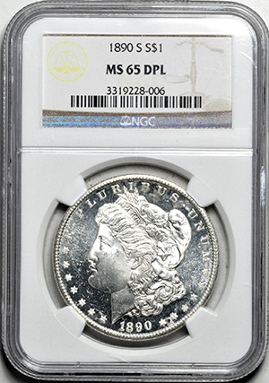 Image of 1890-S MORGAN S$1