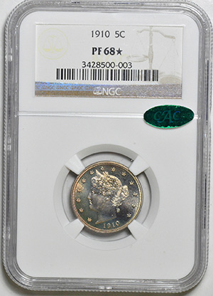 Image of 1910 LIBERTY HEAD 5C