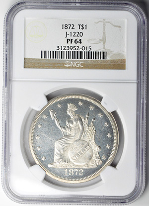 Image of 1872 T$1 J-1220