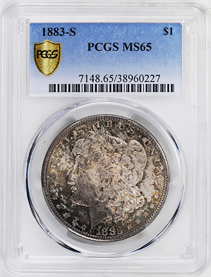 Image of 1883-S MORGAN S$1