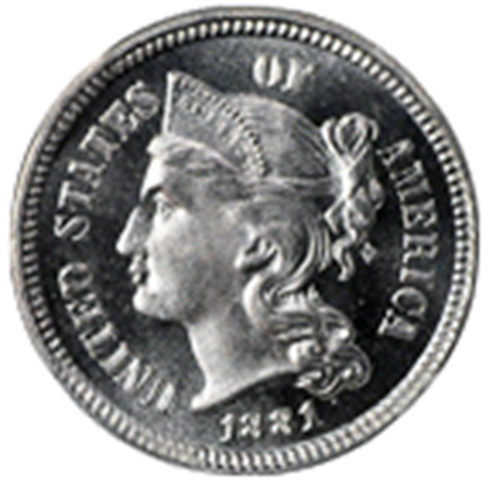 Picture for category Three Cent Nickels