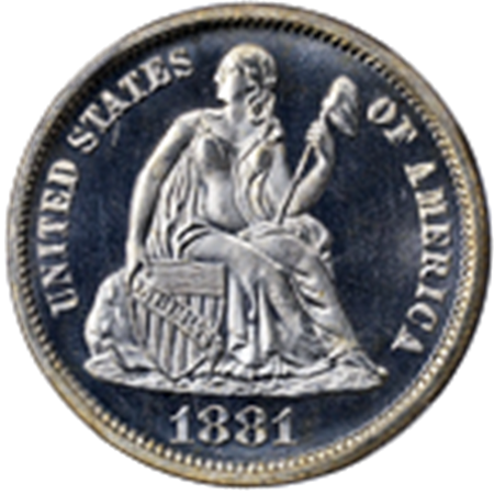 Picture for category Liberty Seated Dimes