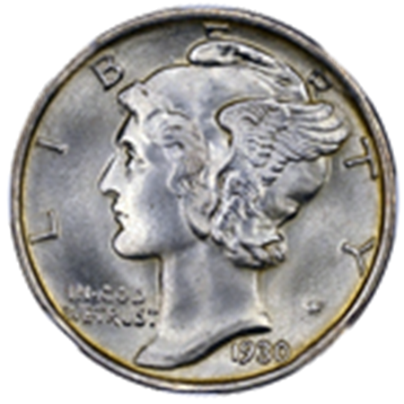 Picture for category Mercury Dimes