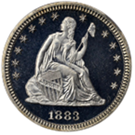 Picture for category Liberty Seated Quarters