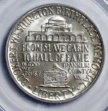 Picture of 1948-D BTW SILVER 50C MS67