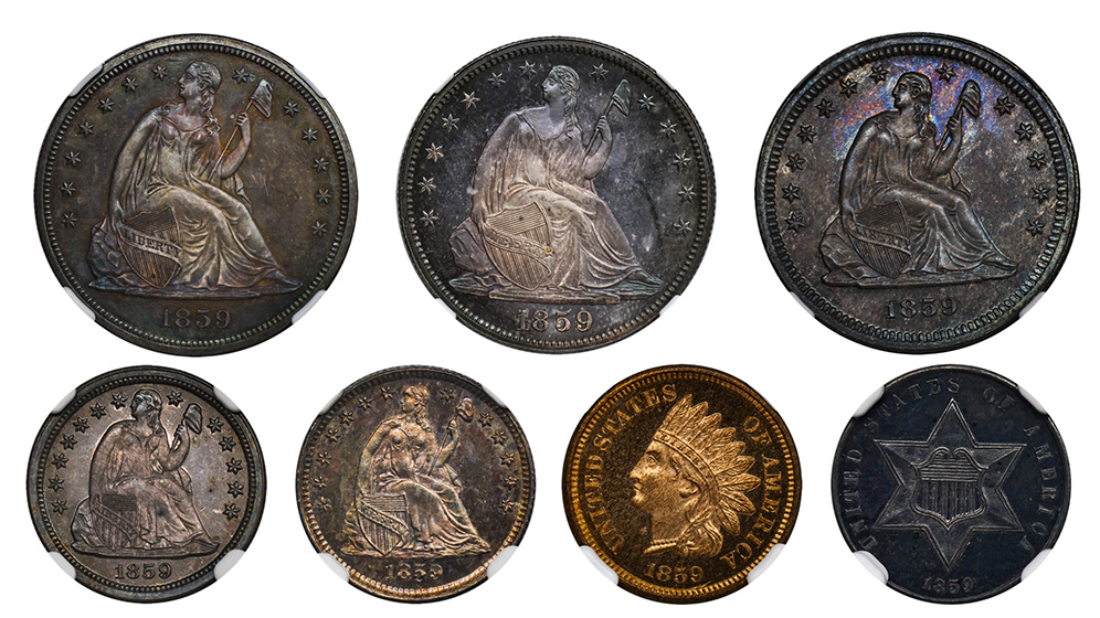 Picture of 1859 PROOF SET PRRA