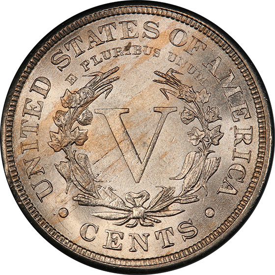 Picture of 1885 LIBERTY 5C MS64+