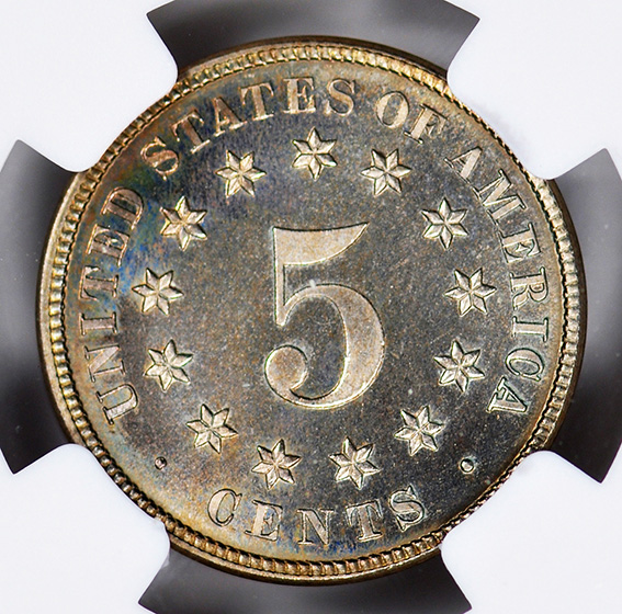 Picture of 1881 SHIELD 5C PR68