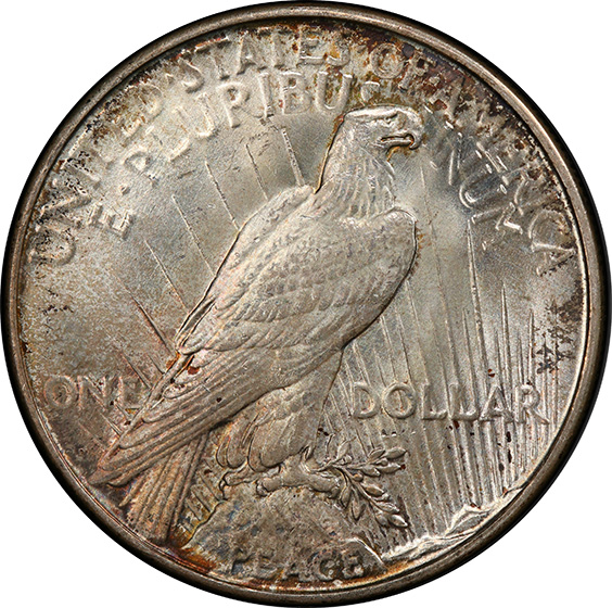 Picture of 1923-D PEACE S$1 MS66