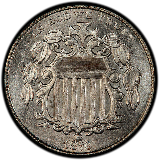 Picture of 1876 SHIELD 5C MS66+