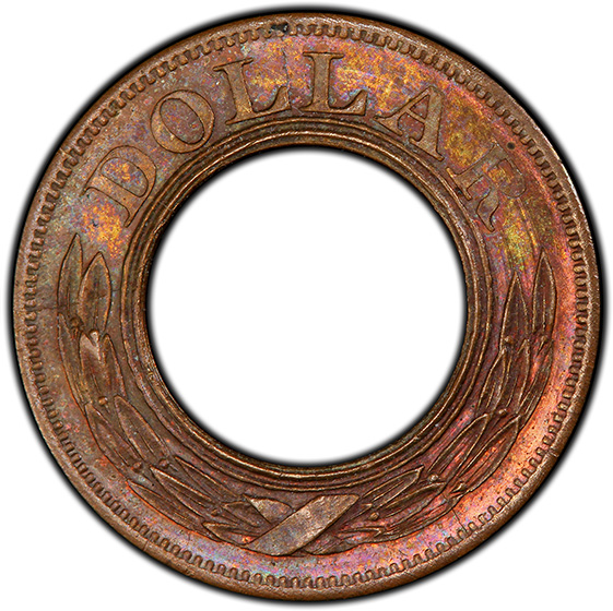 Picture of 1852 G$1 J-147 PR66 Red Brown