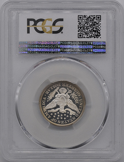 Picture of 1898 BARBER 25C PR68 Deep Cameo