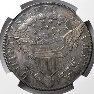 Picture of 1799 BUST $1, LARGE EAGLE MS63