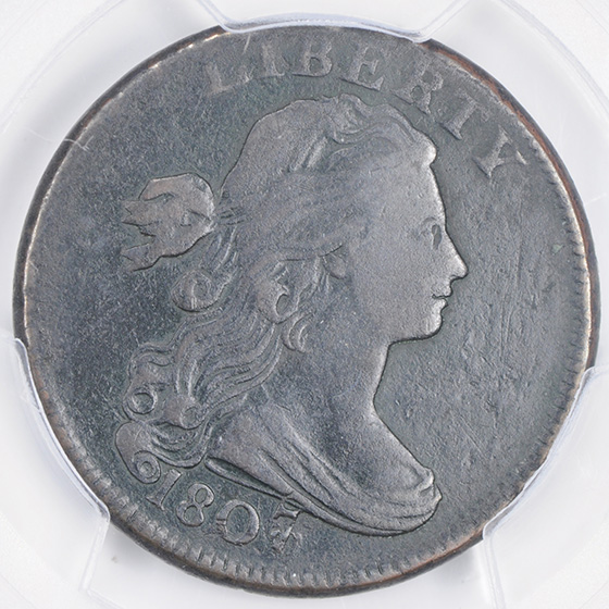 Picture of 1807 DRAPED BUST 1C, SMALL 7 FB12 N