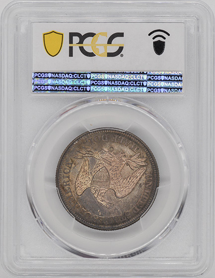 Picture of 1859-O LIBERTY SEATED 50C, NO MOTTO MS66