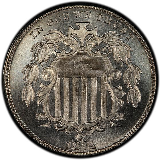 Picture of 1874 SHIELD 5C PR67