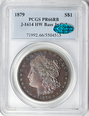Picture of 1879 S$1 J-1614 PR66 Red Brown