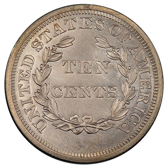 Picture of 1868 10C J-647 PR66