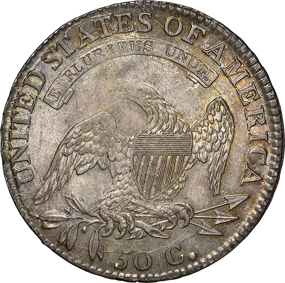 Picture of 1813 CAPPED BUST 50C MS65