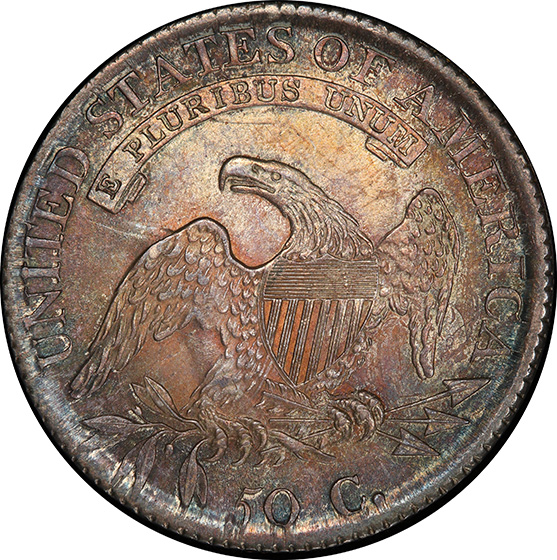Picture of 1814 CAPPED BUST 50C MS65