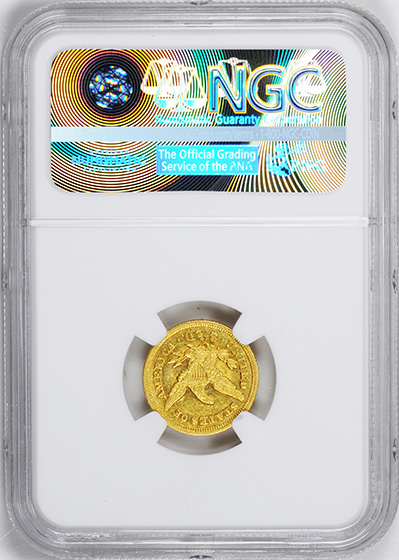 Picture of 1849-C LIBERTY HEAD $2.5 MS60