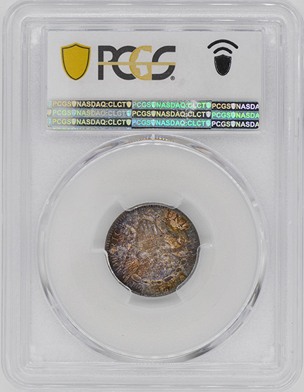 Picture of 1798 DRAPED BUST 10C, LARGE 8 MS64+