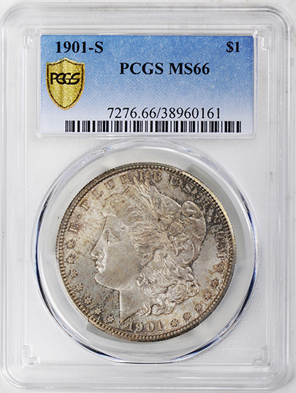 Picture of 1901-S MORGAN S$1 MS66
