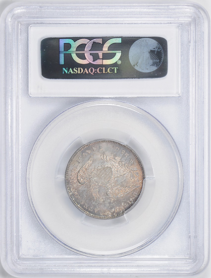Picture of 1831 CAPPED BUST 25C, SMALL LETTERS MS66