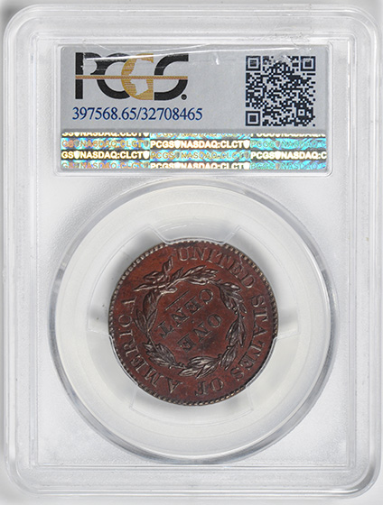 Picture of 1829 CORONET HEAD 1C, BRONZED PR65 Red Brown