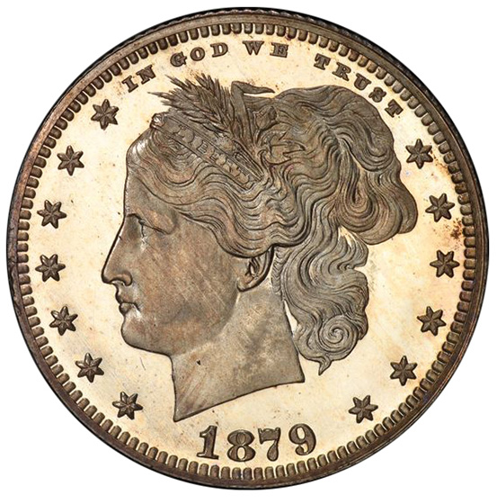 Picture of 1879 25C J-1590 PR66 Deep Cameo