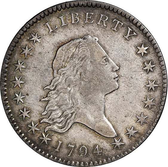 Picture of 1794 FLOWING HAIR 50C AU55