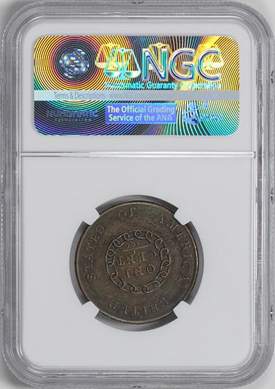 Picture of 1793 CHAIN 1C, AMERICA AU55