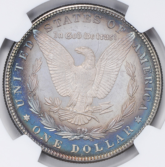 Picture of 1883 MORGAN S$1 PR67+