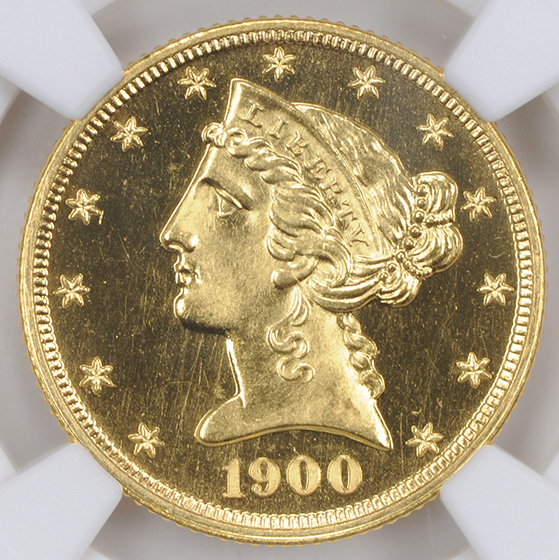 Picture of 1900 LIBERTY $5 PR66 Cameo