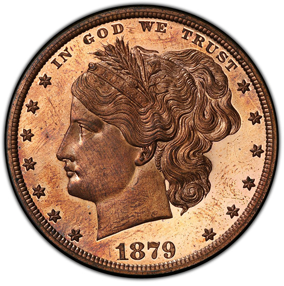 Picture of 1879 S$1 J-1604 PR65 Red