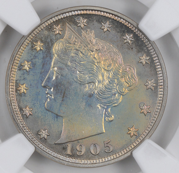 Picture of 1905 LIBERTY 5C PR68