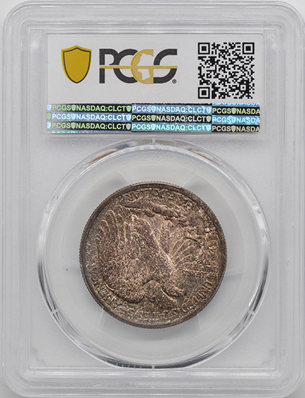 Picture of 1916-D WALKING LIBERTY 50C MS66