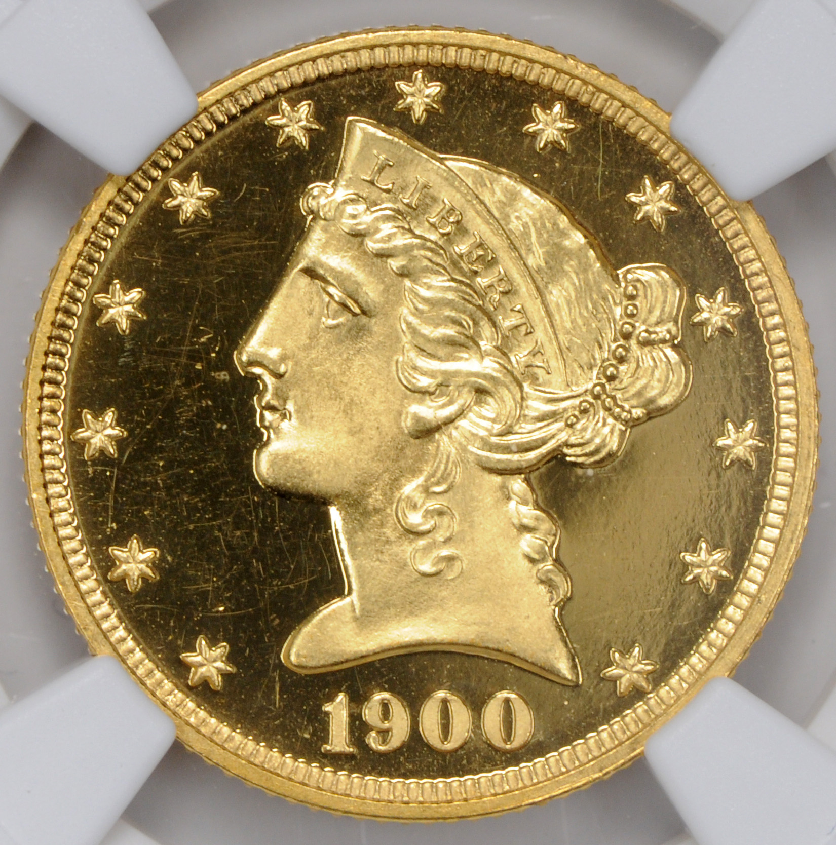 Picture of 1900 LIBERTY $5 PR67 Deep Cameo