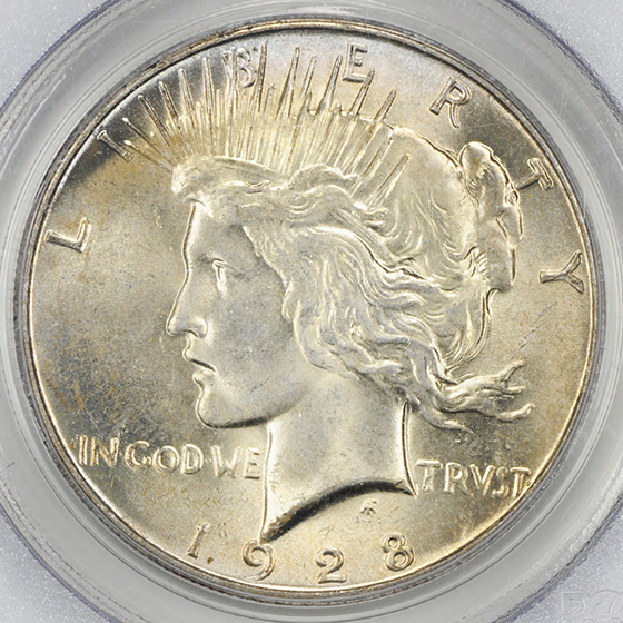 Picture of 1928 PEACE $1 MS65