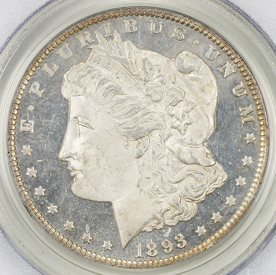 Picture of 1893-O MORGAN S$1 MS65 DMPL
