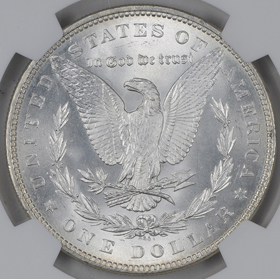 Picture of 1883 MORGAN S$1 MS68
