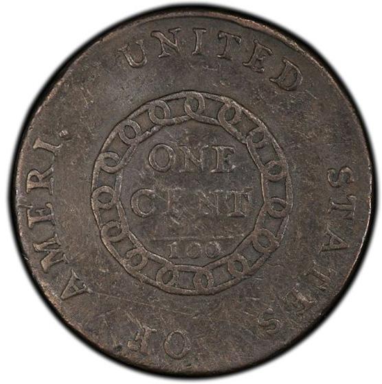 Picture of 1793 CHAIN 1C, AMERI. VF25