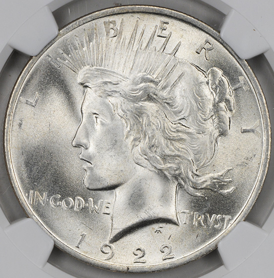Picture of 1922 PEACE $1 MS67
