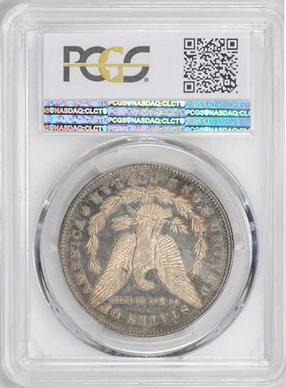 Picture of 1878 MORGAN S$1, REVERSE OF 1878 PR65