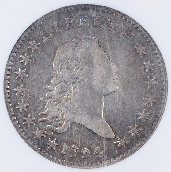 Picture of 1794 FLOWING HAIR 50C XF40