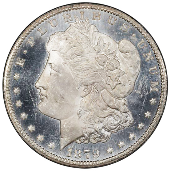 Picture of 1879-CC MORGAN S$1 MS65 Proof Like