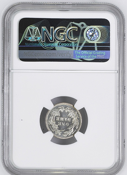 Picture of 1874 LIBERTY SEATED 10C, ARROWS PR66 Cameo