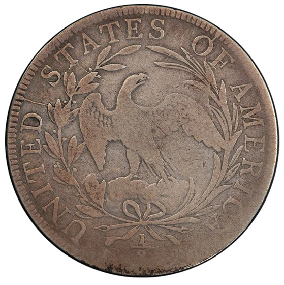 Picture of 1797 DRAPED BUST 50C VG10