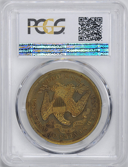 Picture of 1867 S$1 J-593 PR65