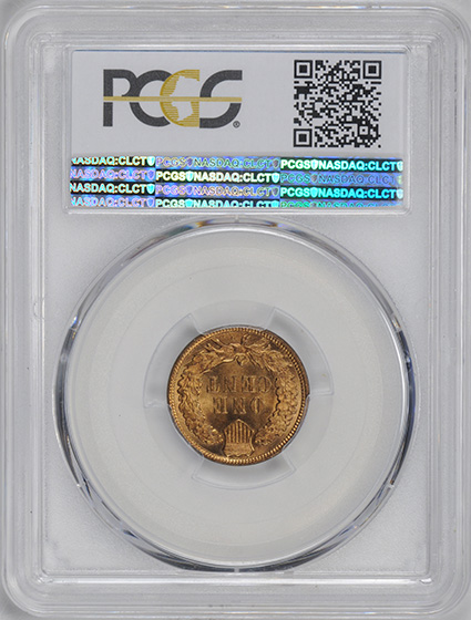 Picture of 1908-S INDIAN BRONZE 1C MS66+ Red
